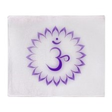 Crown Chakra Throw Blanket