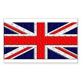 cool union jack sticker