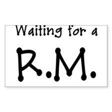 Waiting for a RM - LDS RM - LDS RM - Dots Decal