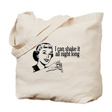 Shake It Retro Tote Bag