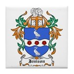 Jenison Coat of Arms Tile Coaster