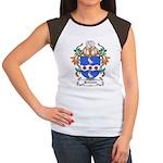 Jenison Coat of Arms Women's Cap Sleeve T-Shirt