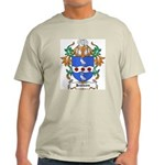 Jenison Coat of Arms Ash Grey T-Shirt