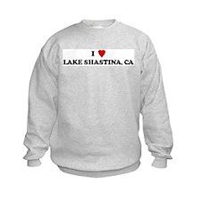 I Love LAKE SHASTINA Sweatshirt