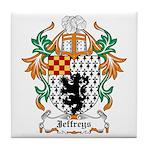 Jeffreys Coat of Arms Tile Coaster