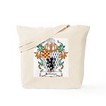 Jeffreys Coat of Arms Tote Bag