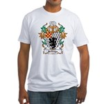 Jeffreys Coat of Arms Fitted T-Shirt