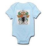 Jeffreys Coat of Arms Infant Creeper
