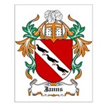 Janns Coat of Arms Small Poster