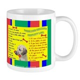Cute Rhodesian ridgeback Small Mugs