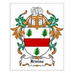 Irvine Coat of Arms Small Poster