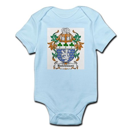Hutchinson Coat of Arms Infant Creeper