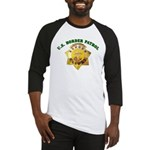 Border Patrol Badge Baseball Jersey