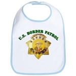 Border Patrol Badge Bib