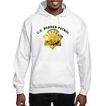 Border Patrol Badge Hooded Sweatshirt