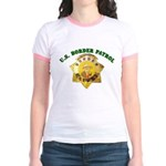 Border Patrol Badge Jr. Ringer T-Shirt