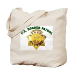 Border Patrol Badge Tote Bag