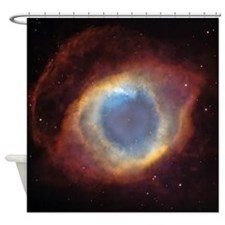 Helix Nebula Shower Curtain