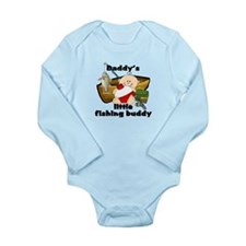 Unique Baby fishing Long Sleeve Infant Bodysuit