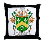 Howman Coat of Arms Throw Pillow