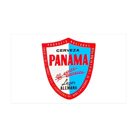 Panama Beer Label 1 38.5 x 24.5 Wall Peel
