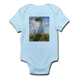 Monet Woman with a Parasol Infant Bodysuit