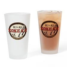 Unique Austin Drinking Glass