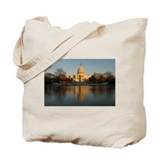 US Capitol Building Sunset Tote Bag