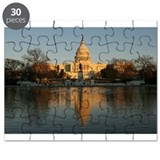 US Capitol Building Sunset Puzzle