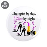 THERAPIST 3.5&quot; Button (10 pack)