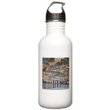 Klimt Malcesine on Lake Garda Water Bottle