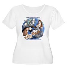 Cute Cat humor T-Shirt