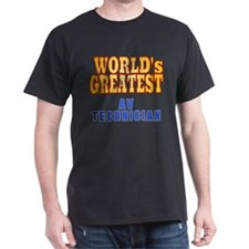 World's Greatest AV Technician T-Shirt