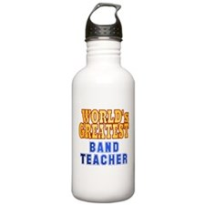 World's Greatest Band Teacher Sports Water Bottle