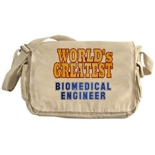 World's Greatest Biomedical Engineer Messenger Bag