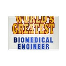 World's Greatest Biomedical Engineer Rectangle Mag