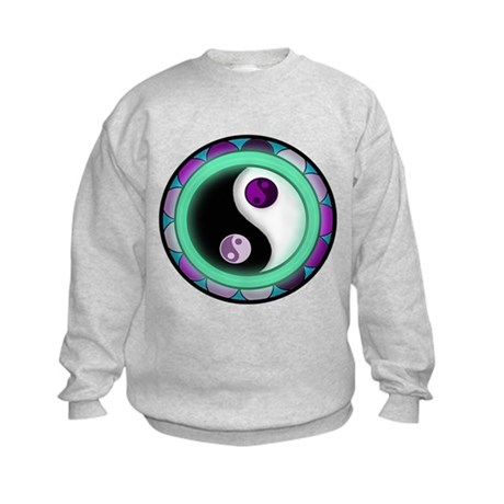 Glowing Zen Kids Sweatshirt