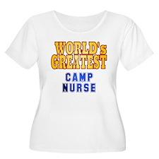 World's Greatest Camp Nurse T-Shirt