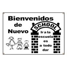 Back to Cool School SPANISH Banner