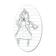 Princess, 20x12 Oval Wall Decal