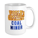 World's Greatest Coal Miner Mug