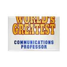 World's Greatest Communications Professor Rectangl
