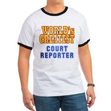 World's Greatest Court Reporter T