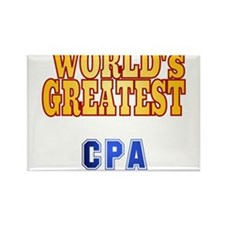 World's Greatest CPA Rectangle Magnet