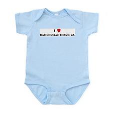 I Love RANCHO SAN DIEGO Infant Creeper