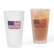 Stars and Stripes Union Drinking Glass