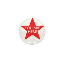 You are Here Mini Button (100 pack)
