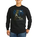 Ghost Orchid Long Sleeve Dark T-Shirt