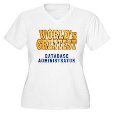World's Greatest Database Administrator T-Shirt