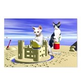 Devon Sandcastle Postcards (Package of 8)